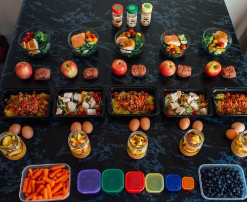 meal prep 5 meals