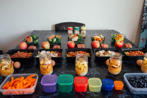 5 day meal prep