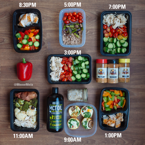 low-carb-meal-prep