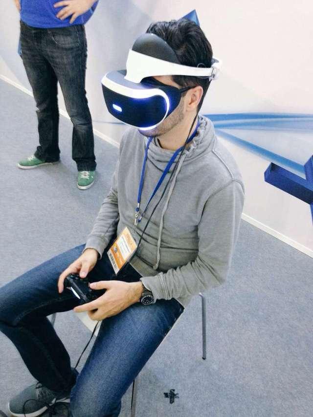 PlayStation VR на Игромир 2015