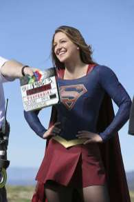 Supergirl-season-1-episode-18-BTS-Melissa-Benoist