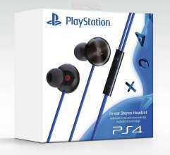 PS4 In-Ear stereo