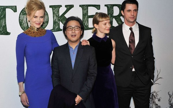LONDON, ENGLAND - FEBRUARY 17: (L-R) Nicole Kidman, director Park Chan-Wook, Mia Wasikowska and Matthew Goode attend a special screening of Stoker at Curzon Soho on February 17, 2013 in London, England. (Photo by Gareth Cattermole/Getty Images)