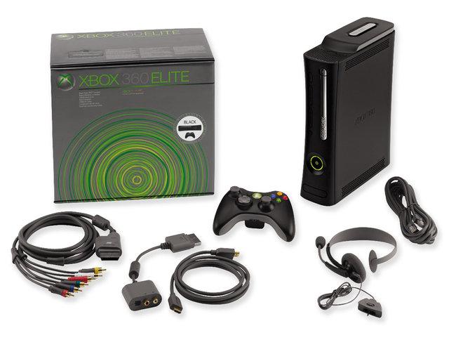 Консоль Xbox 360 в супер-комплектации Elite