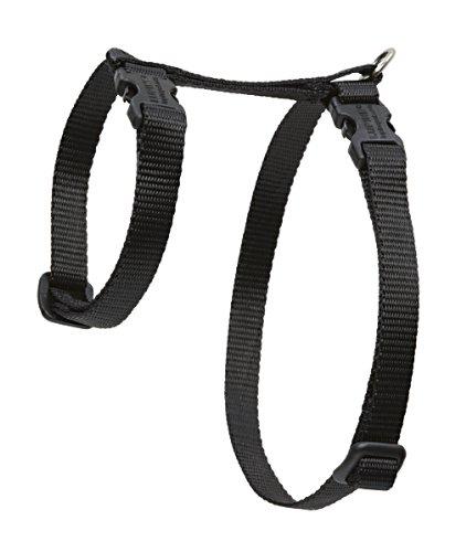 "Premium H-Style Harness - Black, 9-14"" Girth"