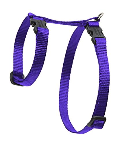 "Premium H-Style Harness - Purple, 12-20"" Girth"
