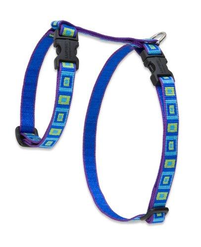 "Premium H-Style Harness - Sea Glass, 12-20"" Girth"