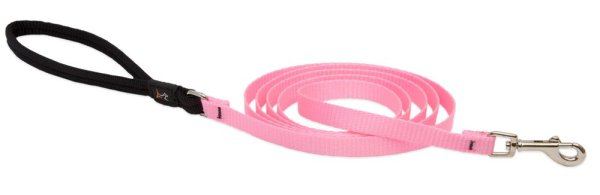 Premium Leash with Padded Handle - Pink