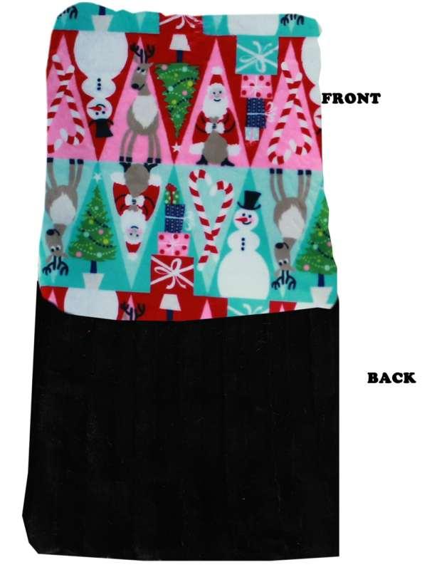 Plush Big Baby Blanket Christmas Medley