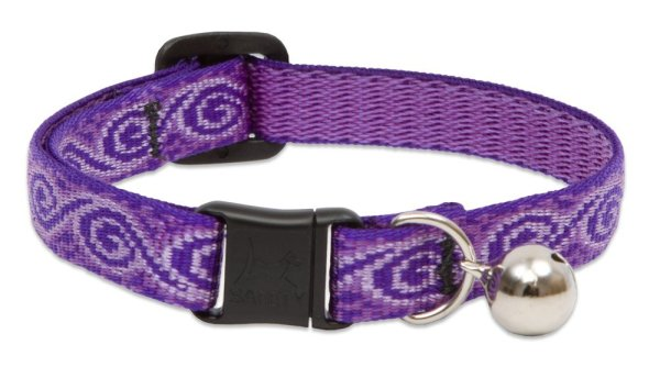"""Premium Safety Collar - Jelly Roll, 8-12"""" with bell"""