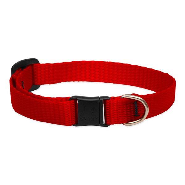 """Premium Safety Collar - Red, 8-12"""""""