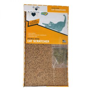 Extra Wide Cardboard Scratcher with Catnip