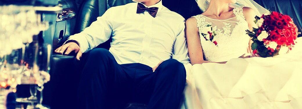 חתן כלה - לימוזינה לחתונה