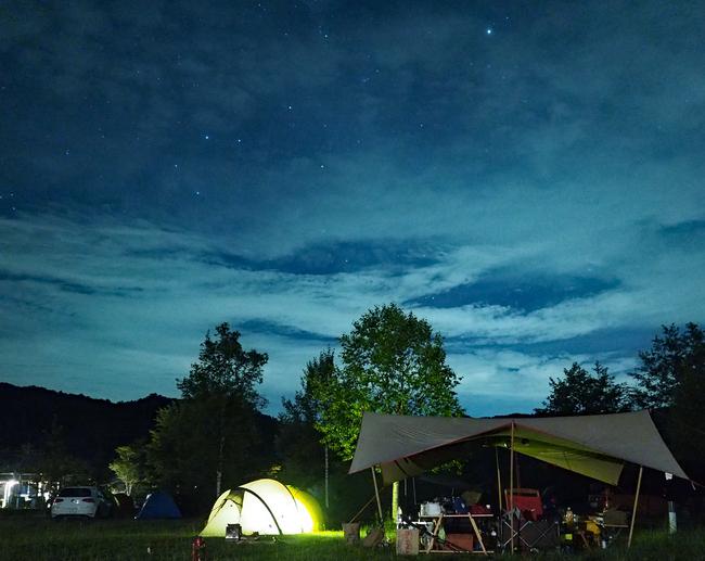 みずがき山自然公園キャンプ場