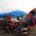 年越しキャンプは4年連続で富士山目の前の田貫湖キャンプ場①