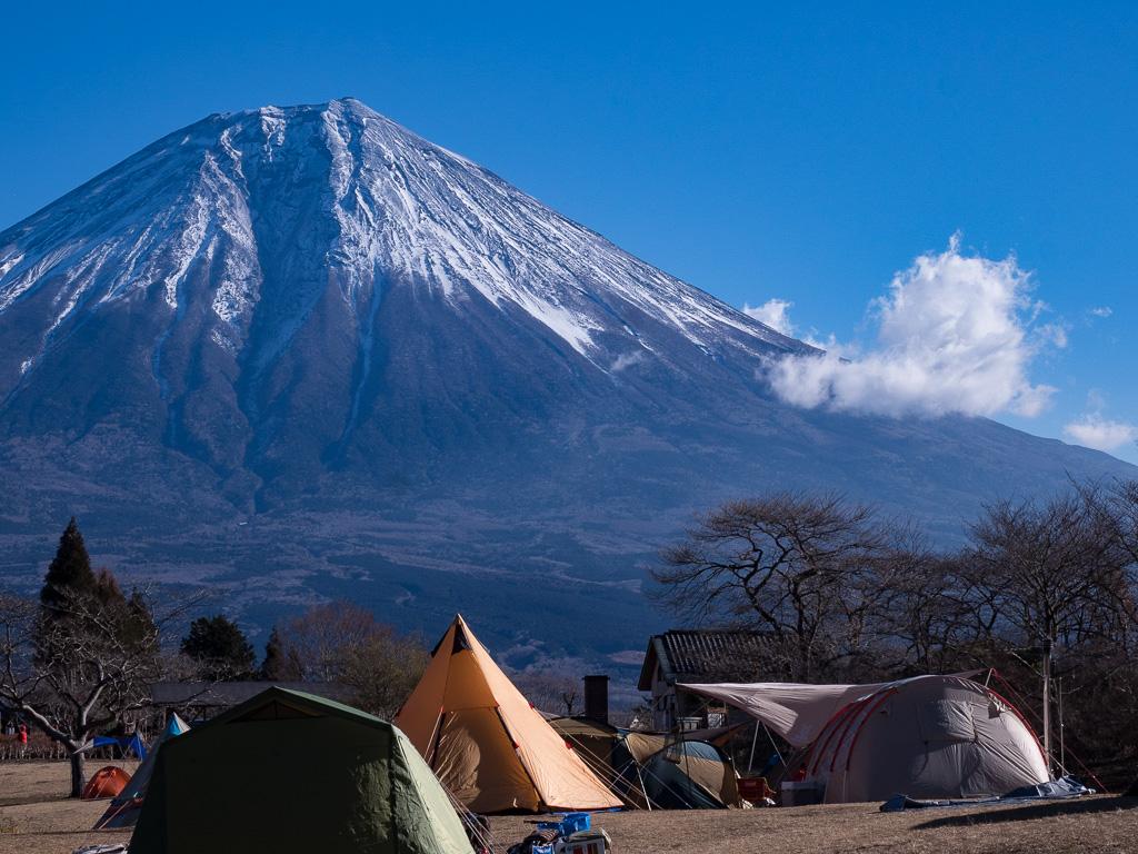 田貫湖富士山