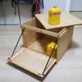 「フタを開けずに取り出したい」キャンプで使う多目的収納ボックスを作ってみた