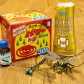 虫対策に新機軸登場か!?今年はブヨの「天敵」おにやんま君に期待!「嫌がらせ」ハッカ油、「目隠し」イカリジン、「殺虫」ピレスロイド系線香に加え新たな選択肢