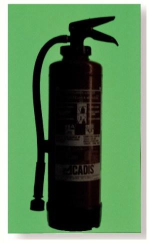 Plaque photoluminescente rigide pour marquage poignée, extincteur, plan... 900x400mm