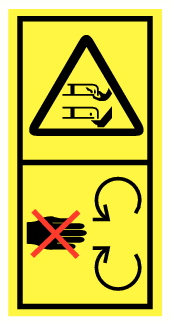 Danger de mutilation