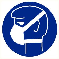 Masque anti-poussières