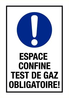Test de gaz