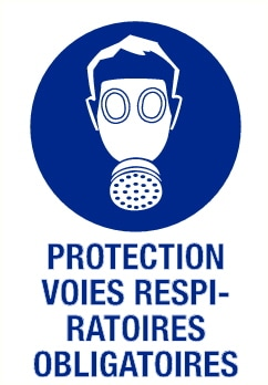 Protection respiratoire obligatoire