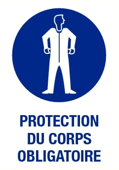 Protection du corps obligatoire