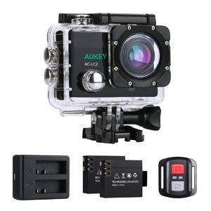 ¡Picante! Action Cam 4K de Aukey con accesorios por 49,99€