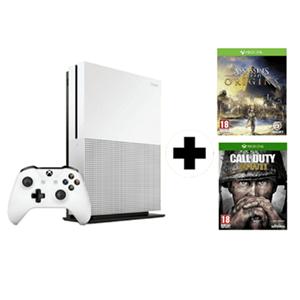Pack Xbox One S (500GB) + 2 juegos + DLC por 225€