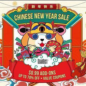 Cupones Gearbest a cholón por el año nuevo chino