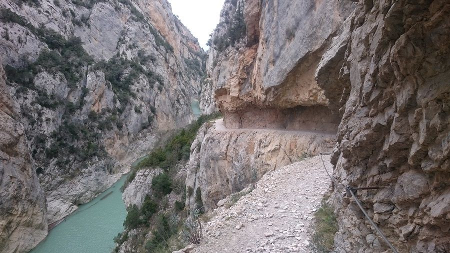 Desfiladero de Mont-Rebei