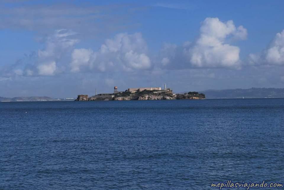 La isla de Alcatraz
