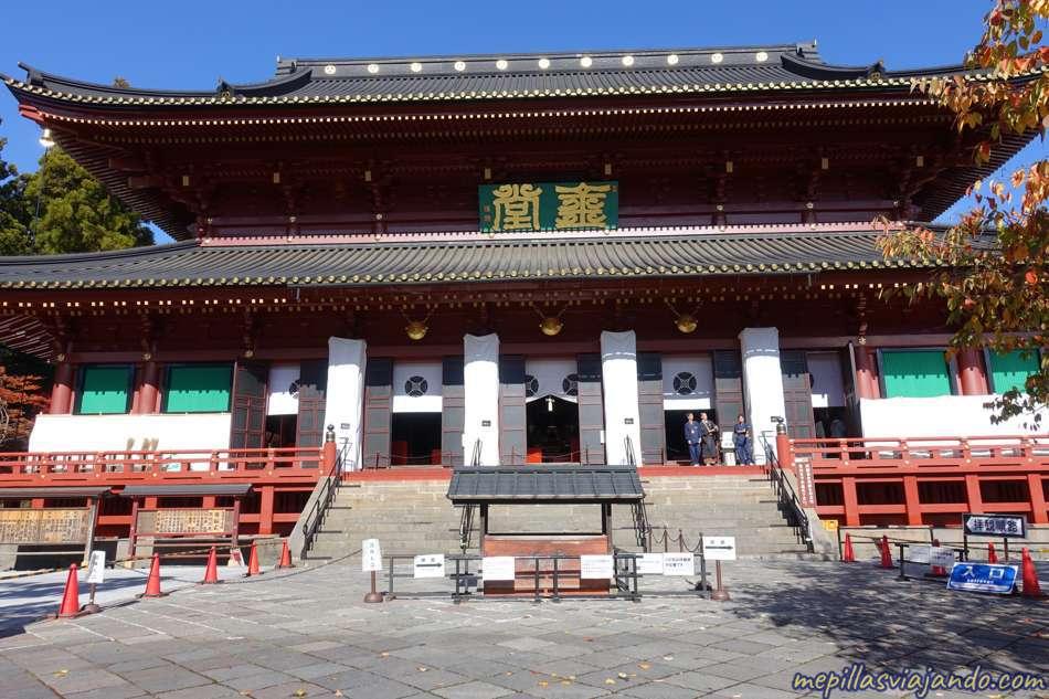 Nikko, templo Rinno-ji