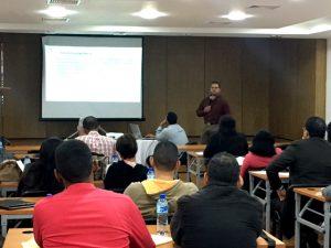 En el taller participaron técnicos de alrededor 50 instituciones estatales.