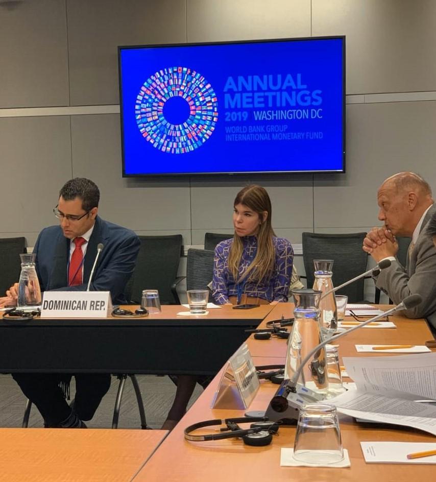 Reunión de la constituyente de países a la que pertenece RD en el Banco Mundial.