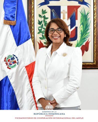 Olaya Dotel Caraballo, Viceministra de Cooperación Internacional