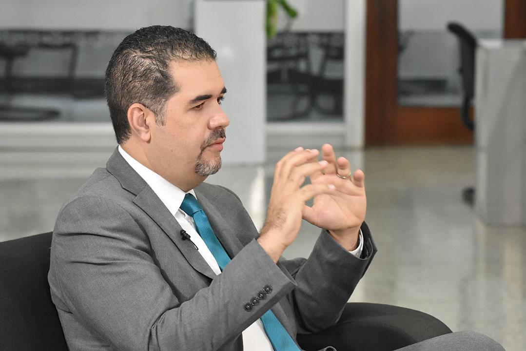 El director de Planificación y Desarrollo en la Zona Fronteriza del Ministerio de Economía, Planificación y Desarrollo, Erick Dorrejo.