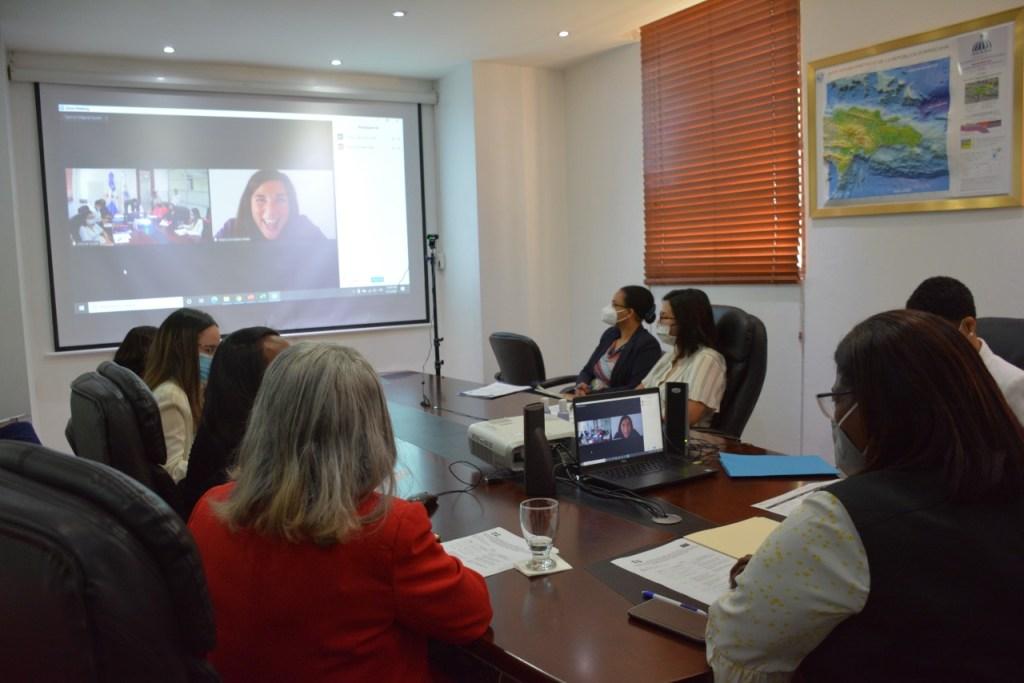 Participantes a la primera reunión del C-PREV.