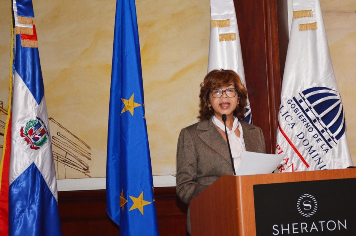 Olaya Dotel, viceministra de Cooperación Internacional del Ministerio de Economía, Planificación y Desarrollo y Ordenadora Nacional de los Fondos Europeos para el Desarrollo.