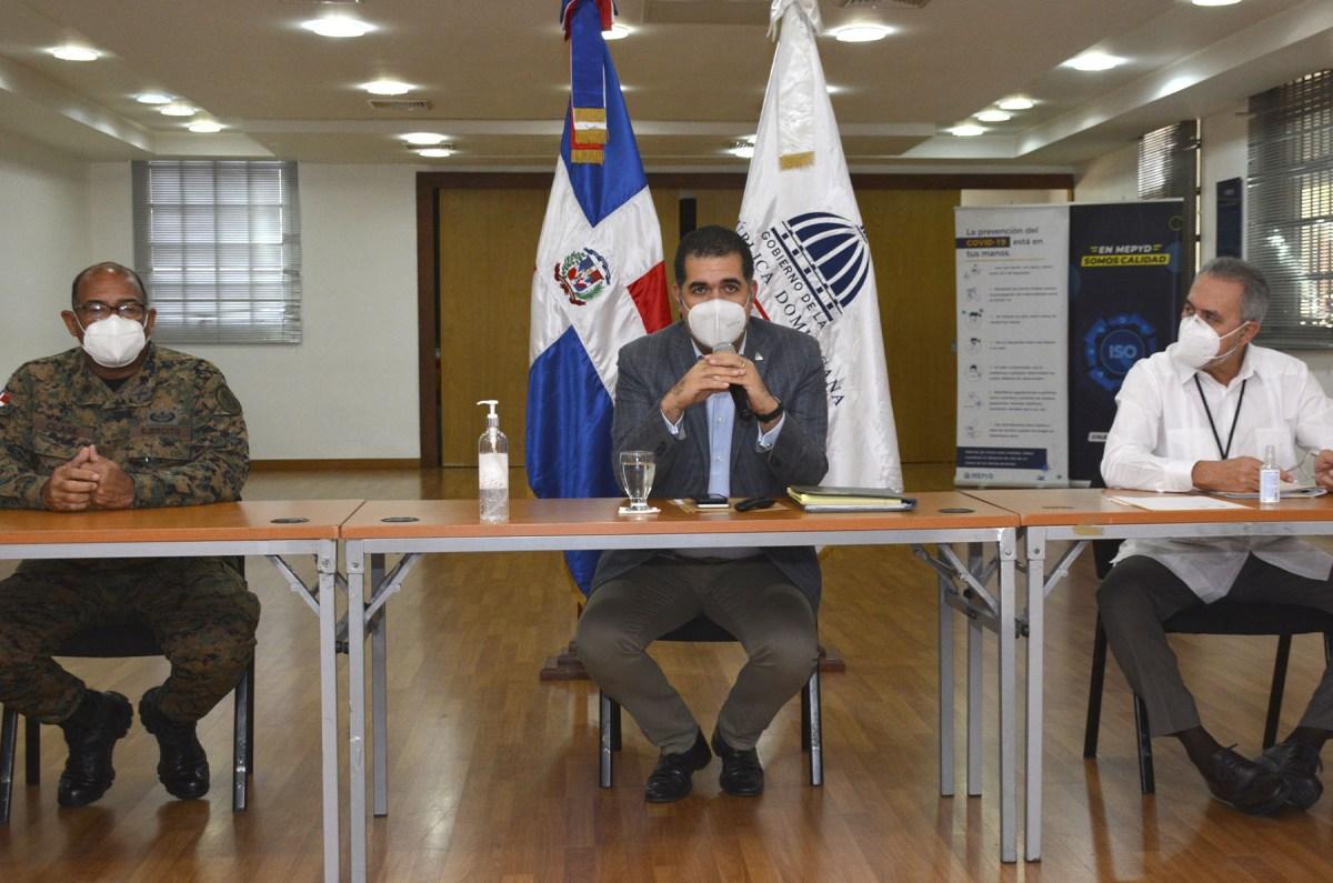 El director de Planificación y Desarrollo de la Zona Fronteriza encabezó la reunión con los representantes de los Ministerios de Defensa y Relaciones Exteriores y de la Comisión Mixta Bilateral.