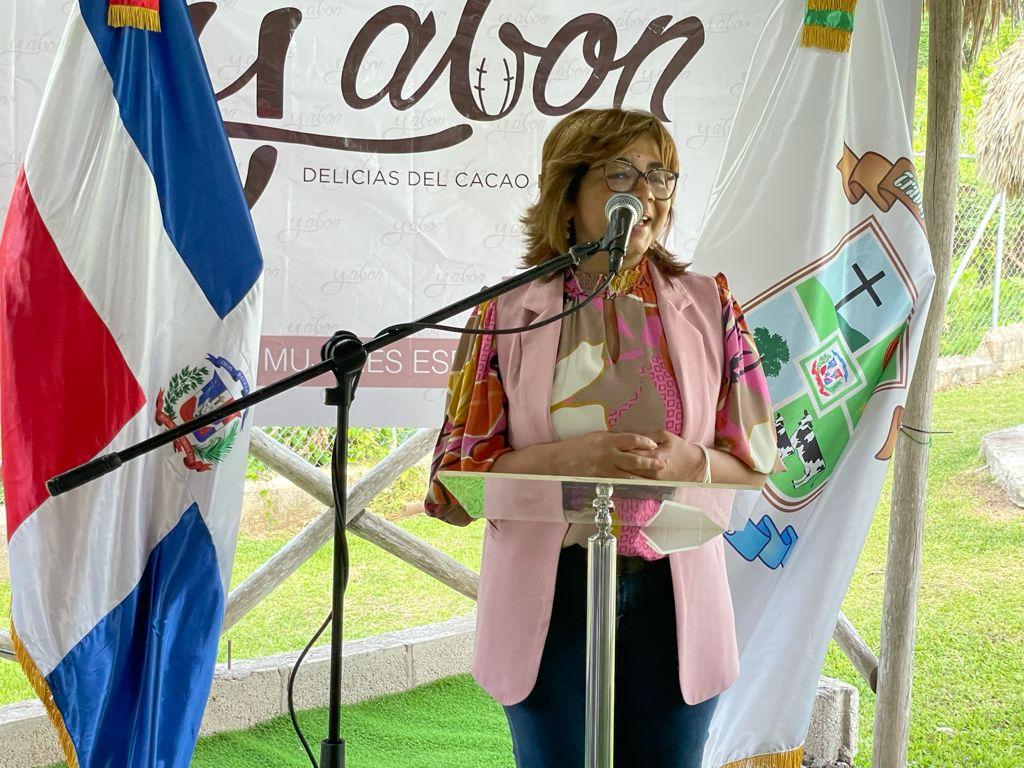 Viceministra de Cooperación Internacional, Olaya Dotel.