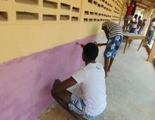 Akosombo Primary School Receives Makeover Courtesy meQasa