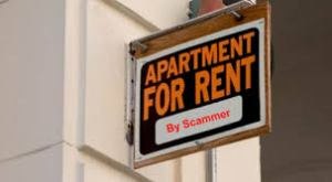 scams. apartment