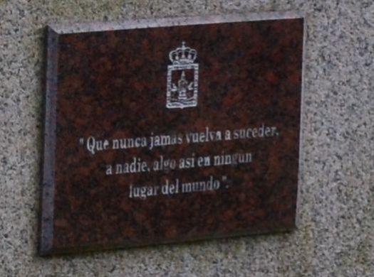 Monument de LAREDO : détail