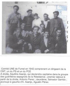 Comité UNE à l'usine de Fumel