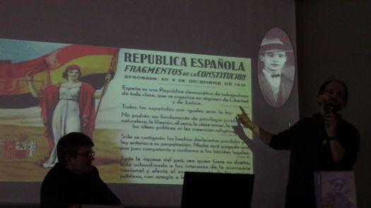 José CABRERO ARNAL, républicain espagnol mettant son crayon au service de ses idéaux, engagé dans les milices contre le coup d'état des généraux félons.