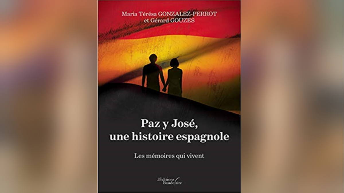 """1re de couverture """"Paz y Jose, une histoire espagnole"""