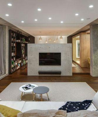 concrete-wall-divider-tv