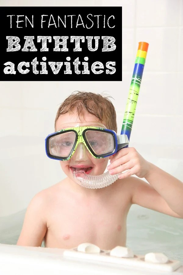 Whether you're looking for sick day activities. or just need some new and creative boredom busters for long winter days inside, this collection of bath activities for kids has you covered. I can't wait to try #10!